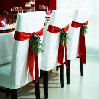 christmas craft ideas decorating dining chair