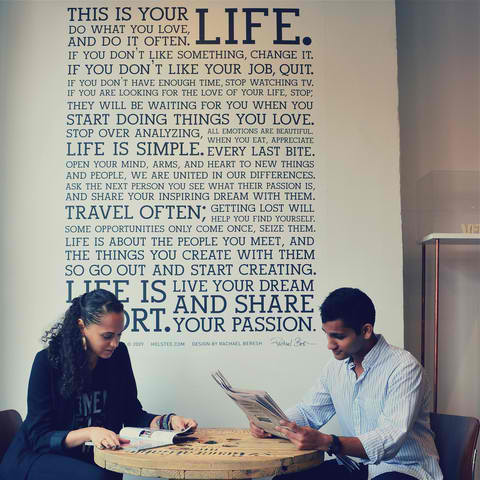 Holstee Manifesto Wall Decal2