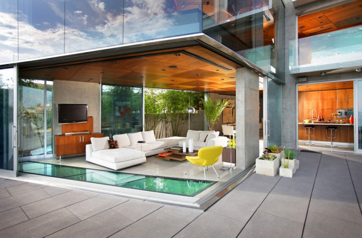 Impressive Glass House in California by Jonathan Segal14