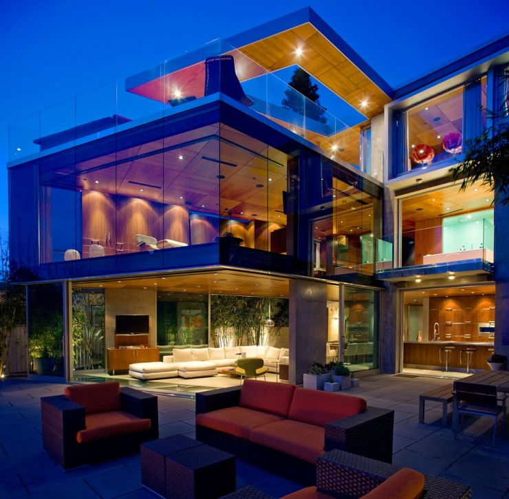 Impressive Glass House in California by Jonathan Segal2