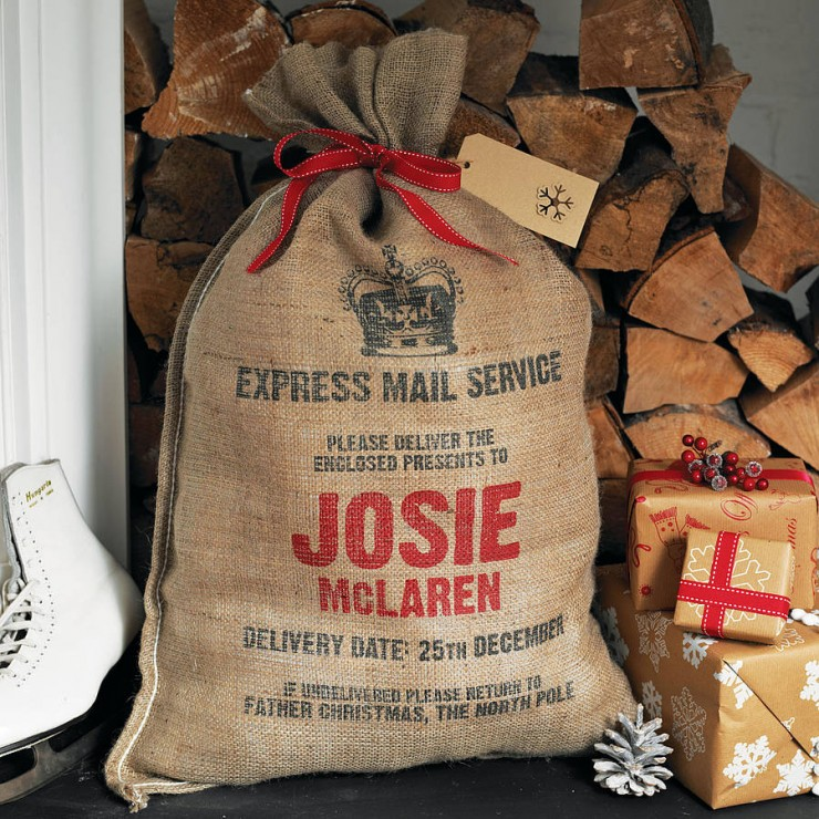 Personalised Christmas Sack8