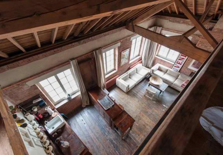 atmospheric  loft interior design 10