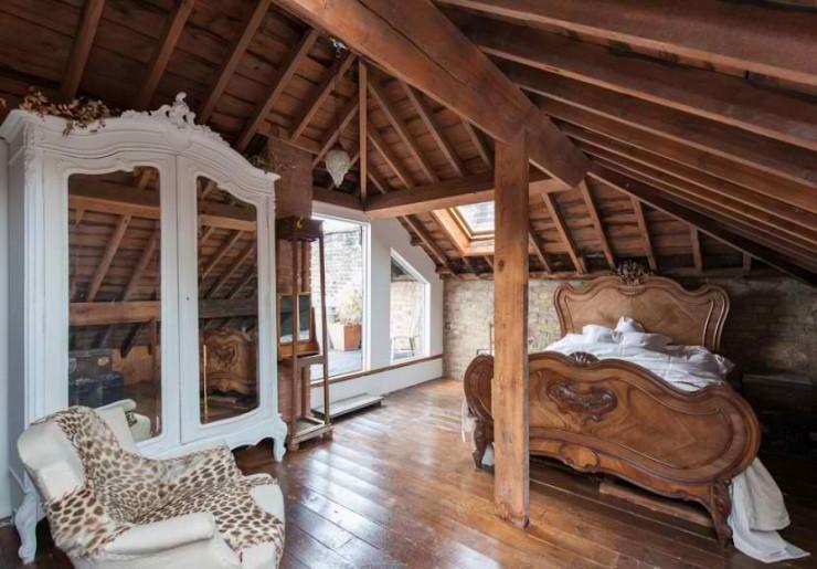atmospheric  loft interior design 14