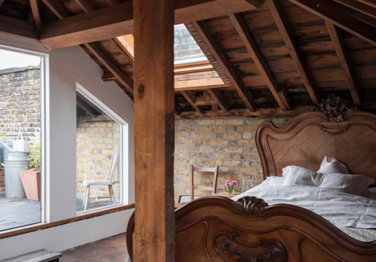 atmospheric  loft interior design 16