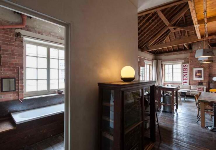 atmospheric  loft interior design 17
