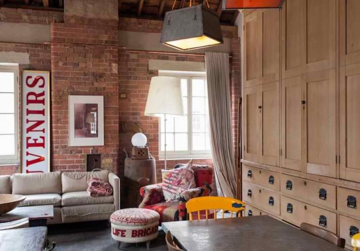 atmospheric  loft interior design 3