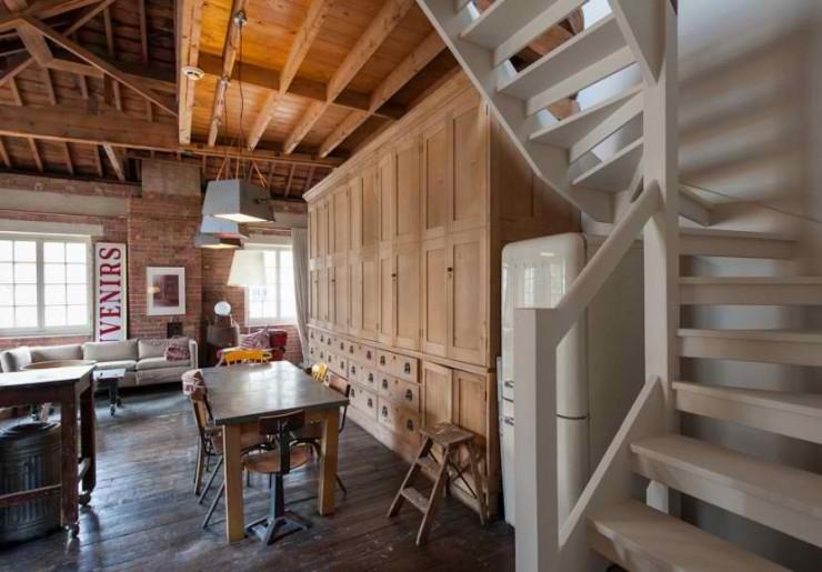 atmospheric  loft interior design 4