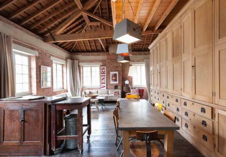 atmospheric  loft interior design 5