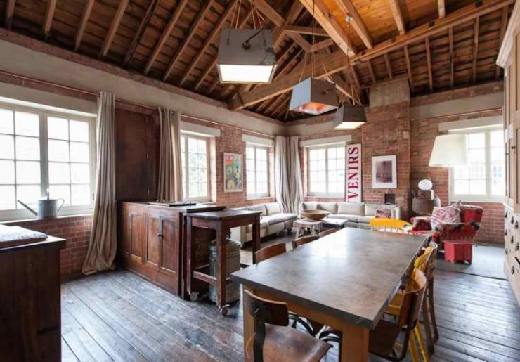 atmospheric  loft interior design 6