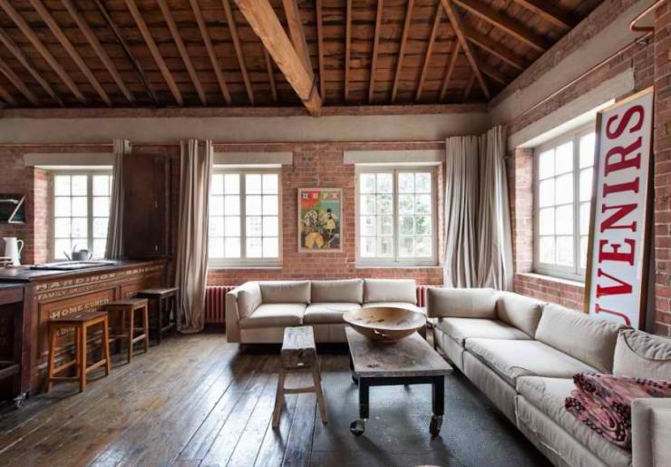 atmospheric  loft interior design