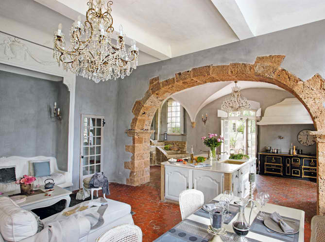 Beautiful House interior design in Provencal2