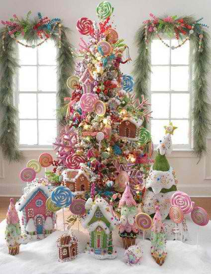 Christmas Tree Decorating Ideas 5 Via Pinterest