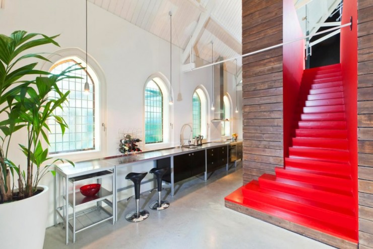 Church 5 Converted Into Modern Living Space by LKSVDD Architecten
