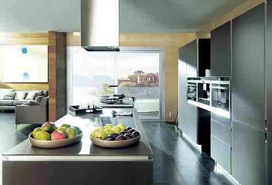 Contemporary Loft interior design by Porcelanosa5