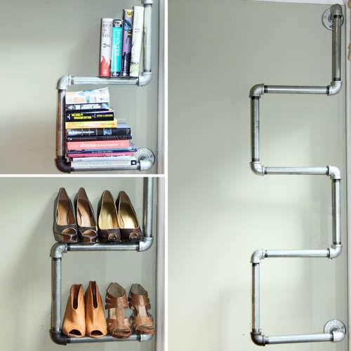 industrial corner shelf 12
