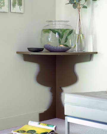 DIY corner shelf 5