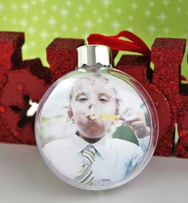 diy christmas photo ornament 8 ideas