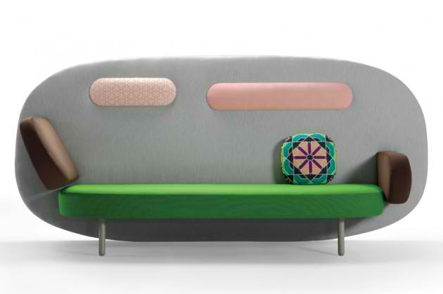Float Sofa by Karim Rashid