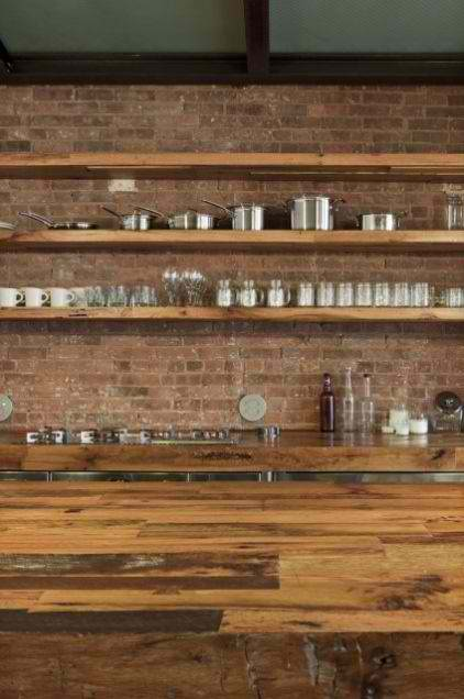 exposed brick wall kitchen design 8 ideas
