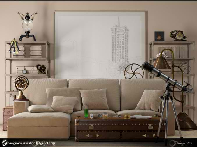 small cream living room design 21
