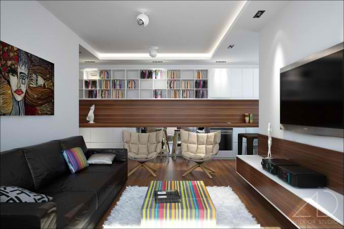 modern small living room design 23