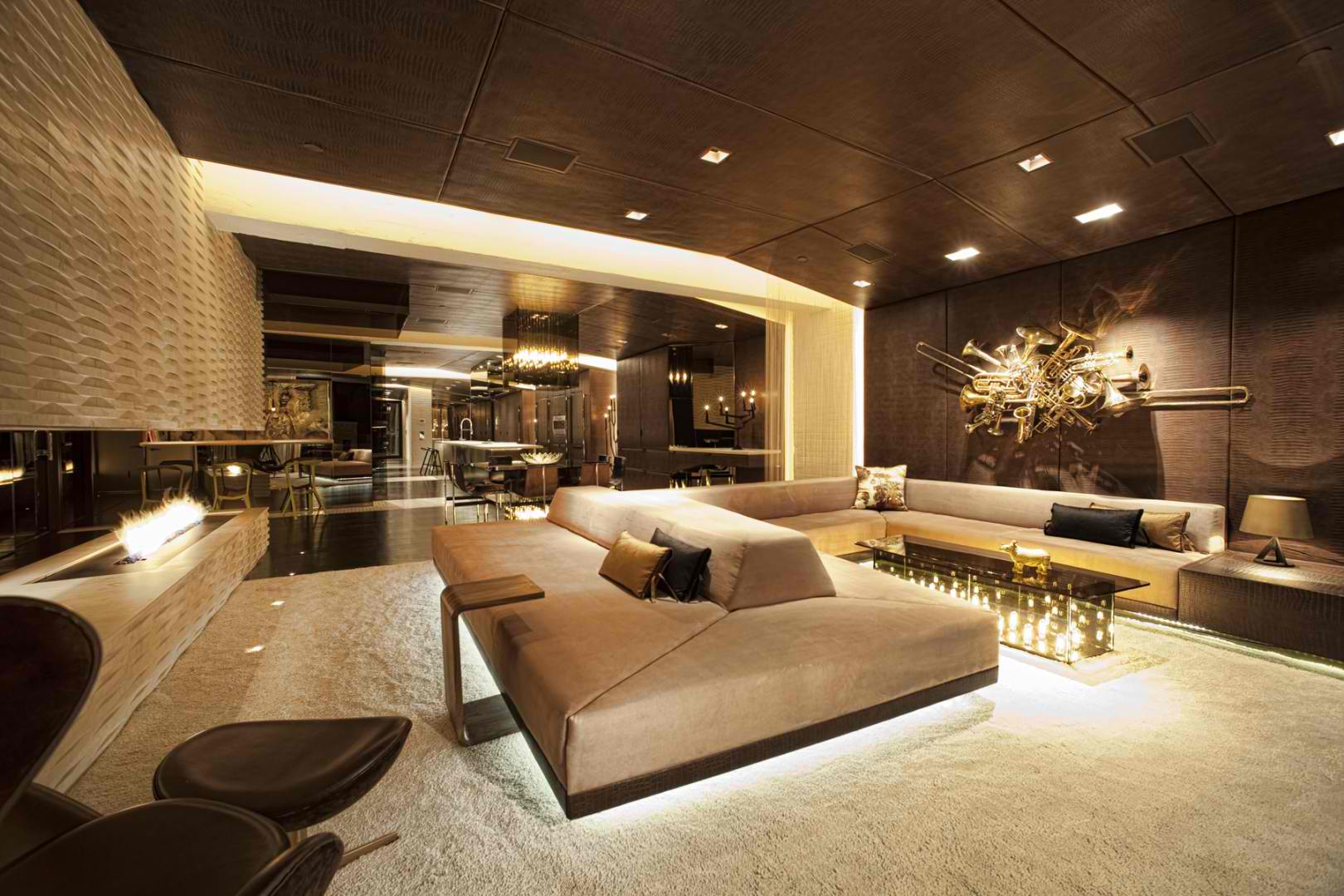 Luxury architecture design home designer for Contemporary interior designer