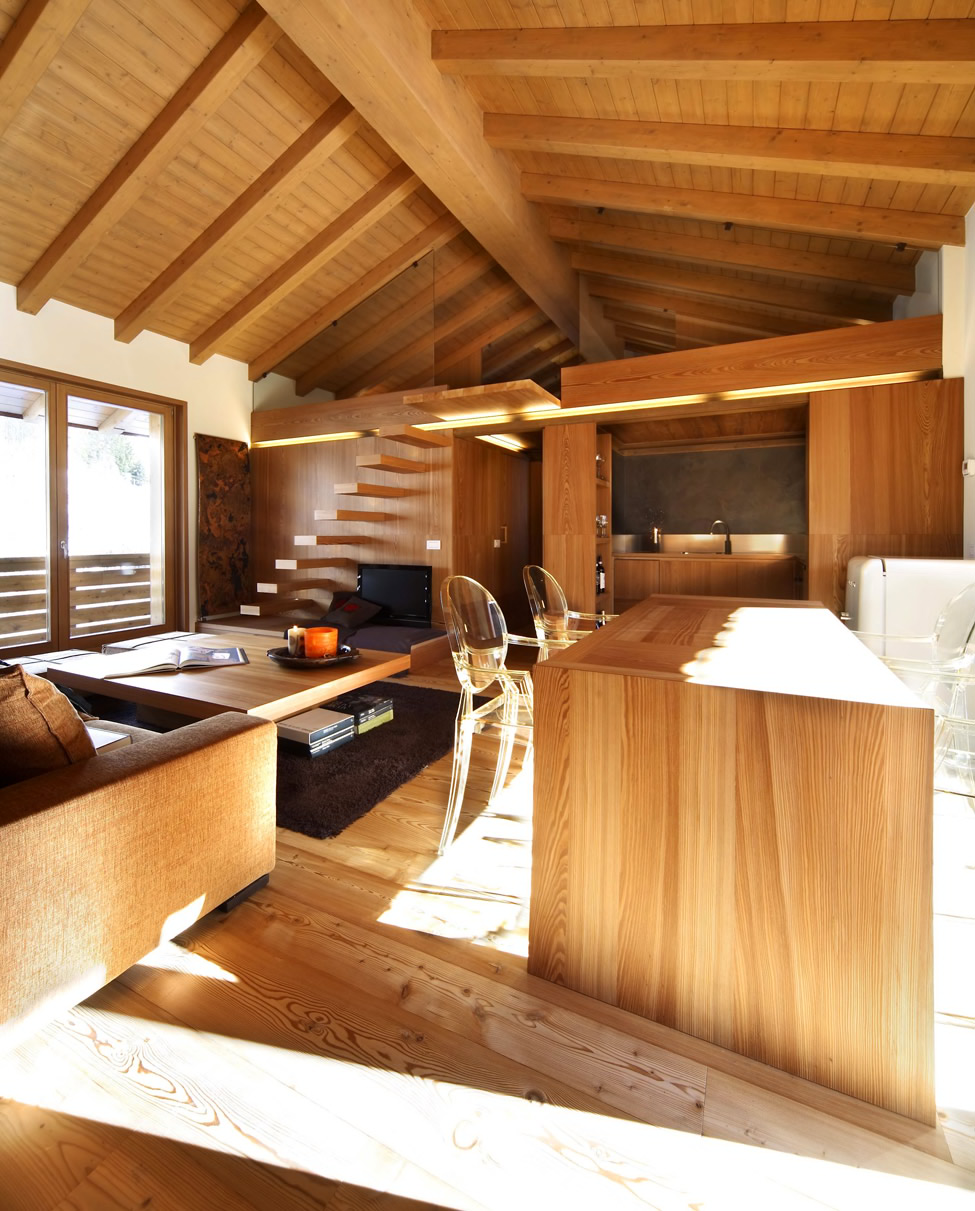 Modern Wood House by Studio Fanetti   Decoholic on Interior:ybeqvfpgwcq= Modern House  id=76823