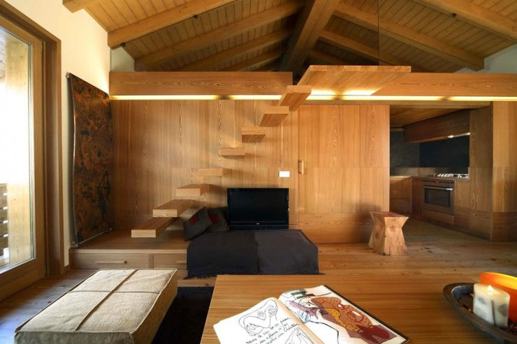 Modern Wood House interior design by Studio Fanetti3