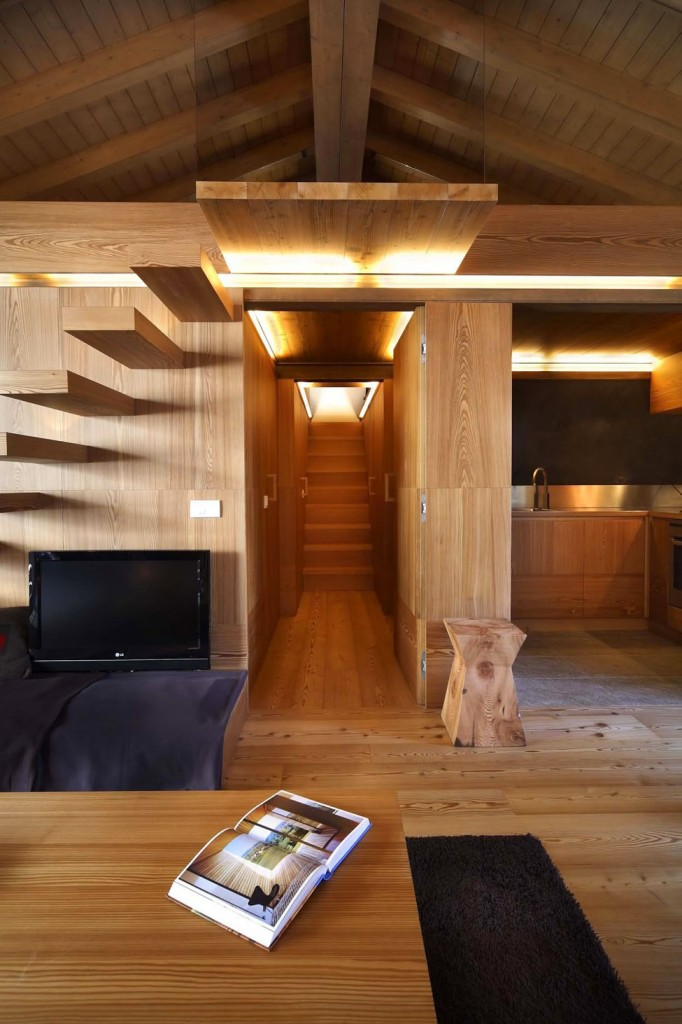 Modern Wood House interior design by Studio Fanetti5