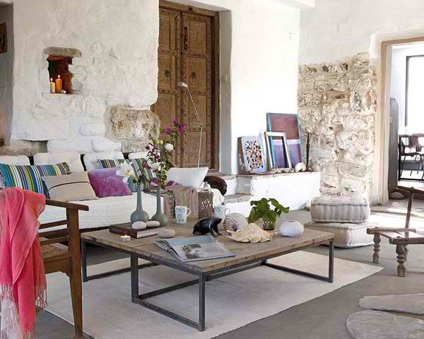 Modern country villa in santuario de la luz spain decoholic for Idee deco retro chic