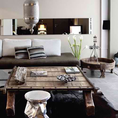 Masculine Interior Decorating: Modern House With A Classic Twist