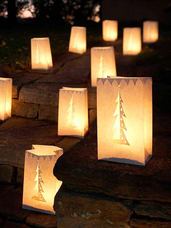 30 Outdoor Christmas Decorations - Decoholic on Patio Lights Decorating Ideas id=64196