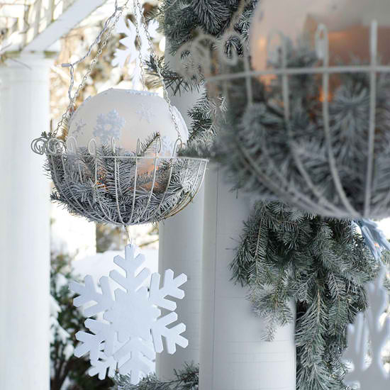 30 outdoor christmas decorations decoholic Outside xmas decorations ideas