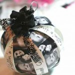diy craft photo Christmas ornament