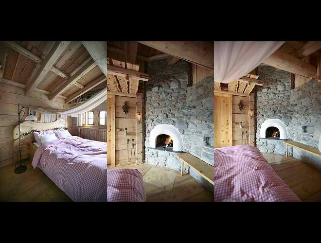dream traditional huts interior design in Austria2