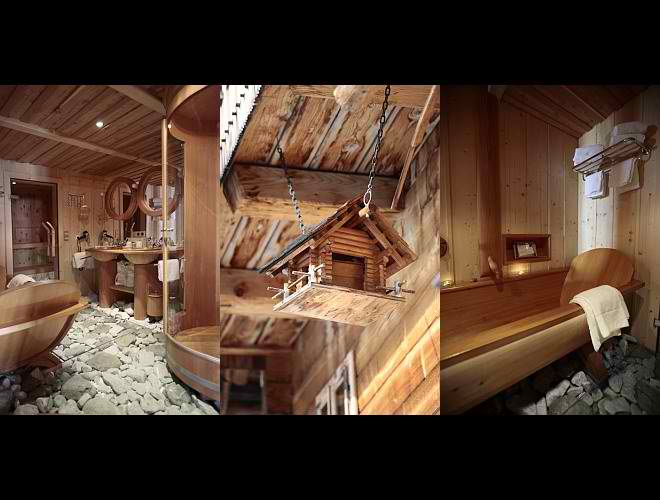 dream traditional huts interior design in Austria5