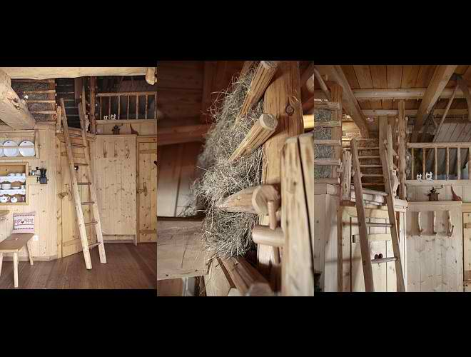 dream traditional huts interior design in Austria6