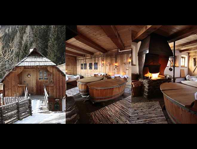dream traditional huts interior design in Austria7