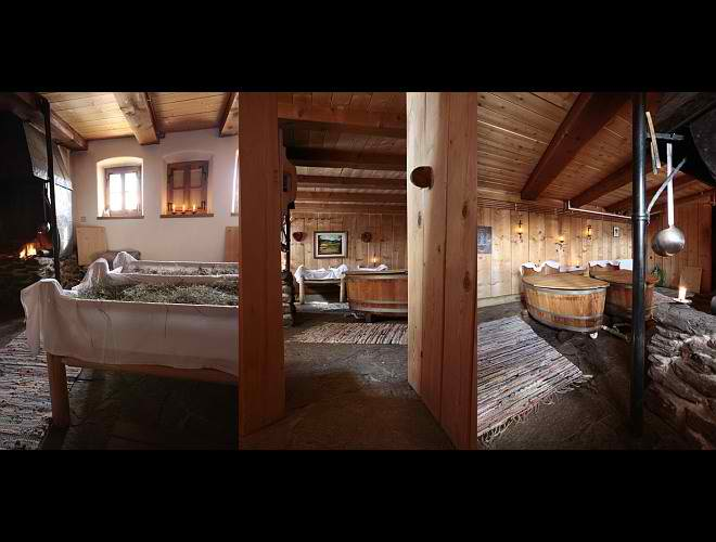 dream traditional huts interior design in Austria8