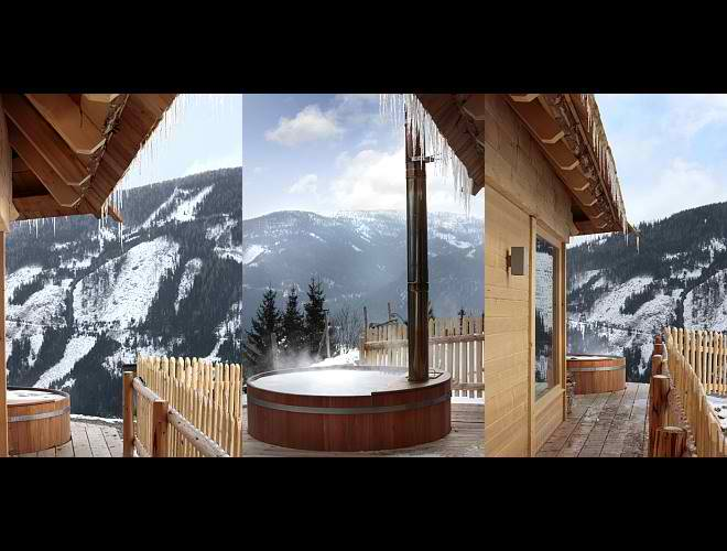 dream traditional huts interior design in Austria9