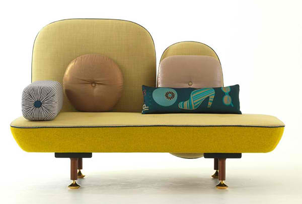 My Beautiful Backside Sofa by Moroso