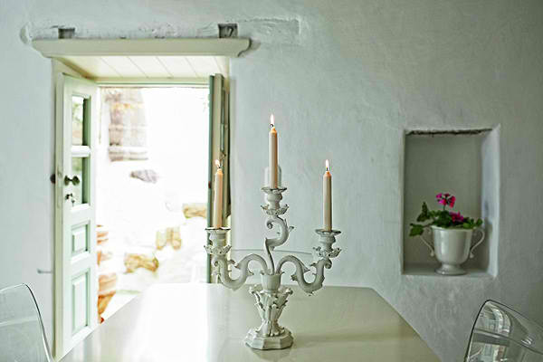 traditional greek island architecture with modern interior design3
