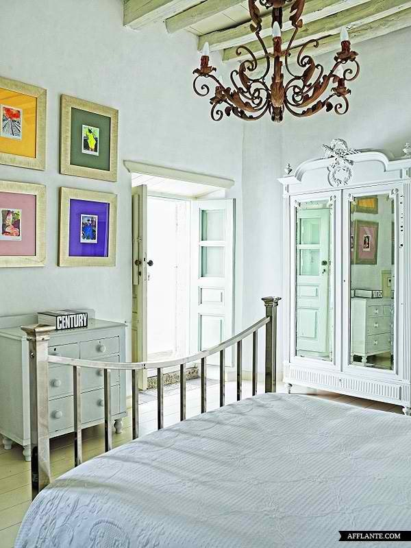 traditional greek island architecture with modern interior design4