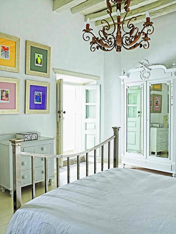 traditional greek island architecture with modern interior design5