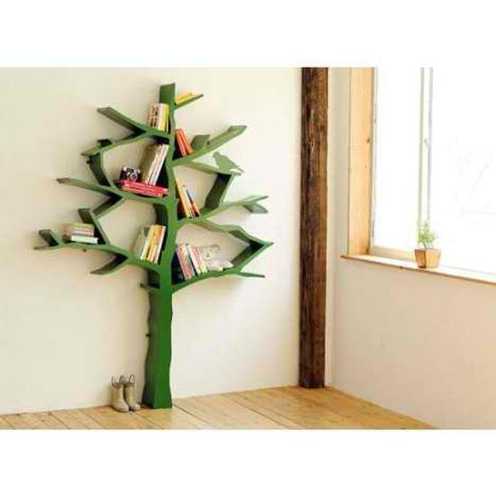 NurseryWorks Tree Bookcase in Green2