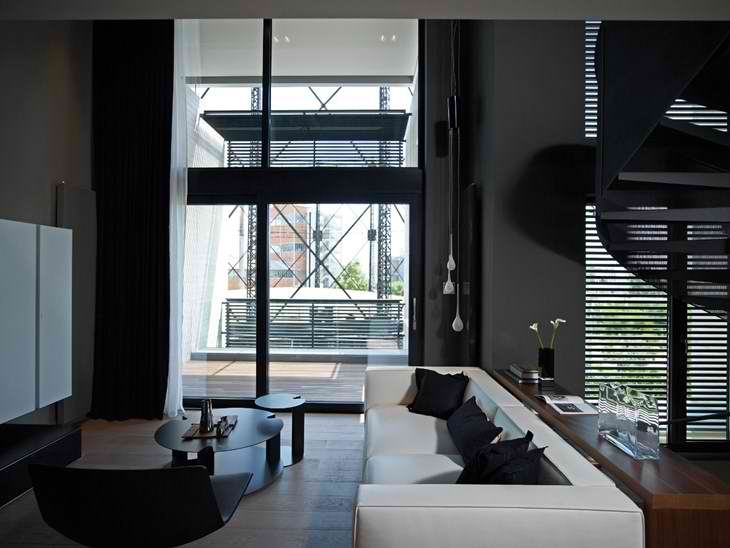Urban Loft interior design by Alpha Land2