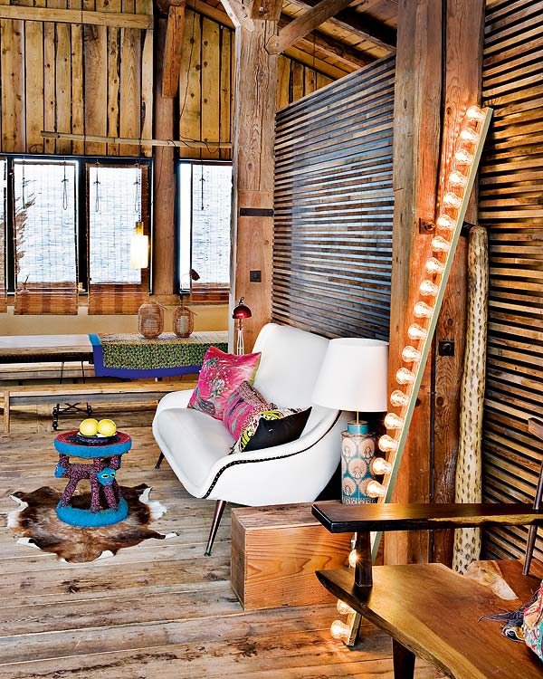Bohemian Chalet in Alpes by Lionel Jadot10