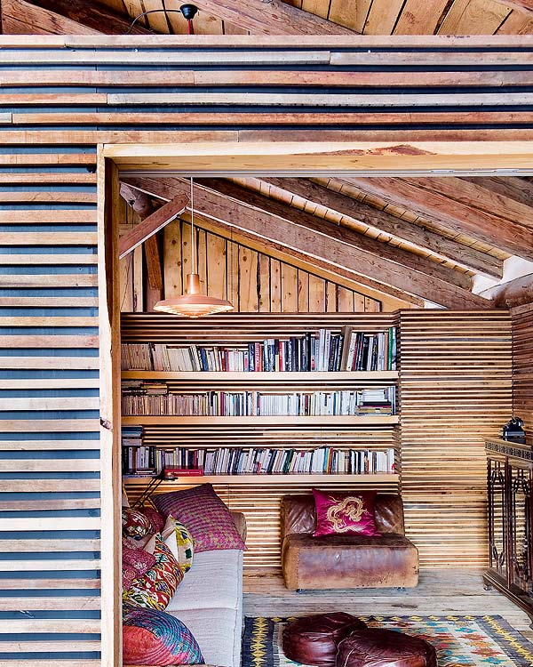Bohemian Chalet in Alpes by Lionel Jadot3
