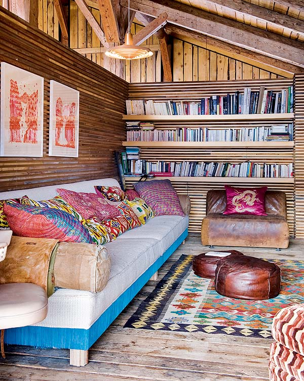Bohemian Chalet in Alpes by Lionel Jadot4