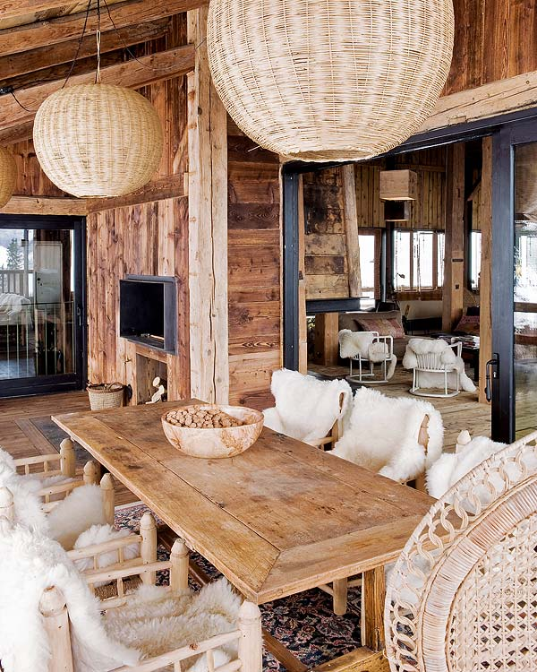 Bohemian Chalet In Alps By Lionel Jadot Decoholic